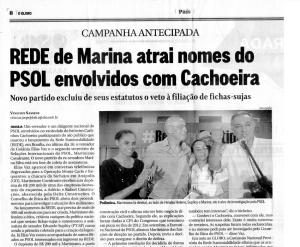Globo x Marina